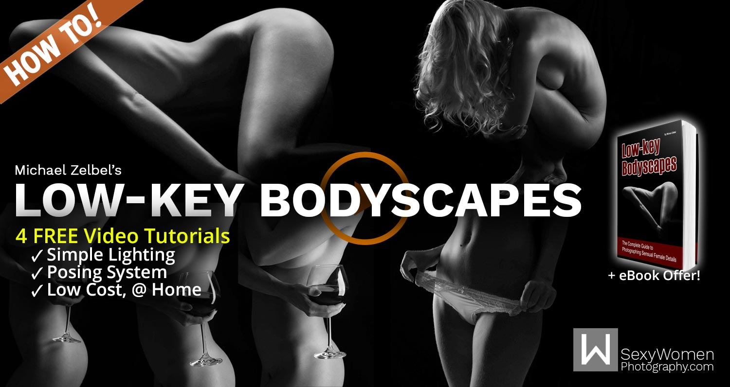 Free Video Tutorials Low Key Bodyscapes Nude Photography By Michael Zelbel Sexy Women Photography