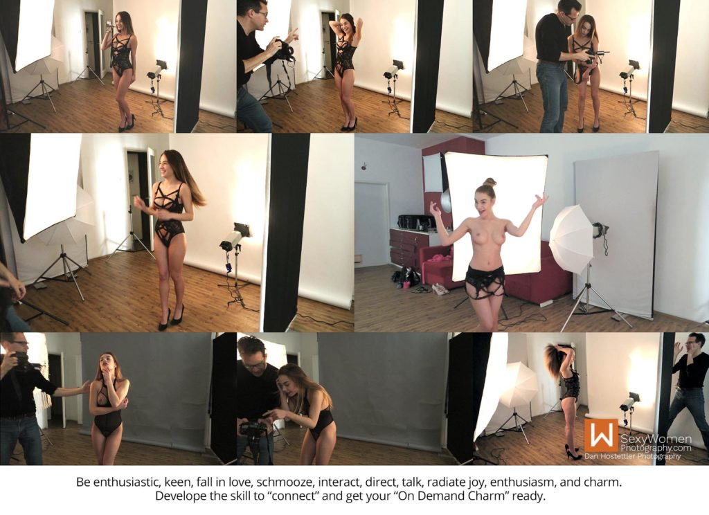 3 - Your Personality Weighs In - BTS - Model Test Shoot