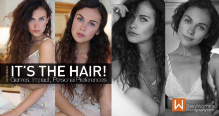 How To Use Hair To Portray  Attractive Visual Stories