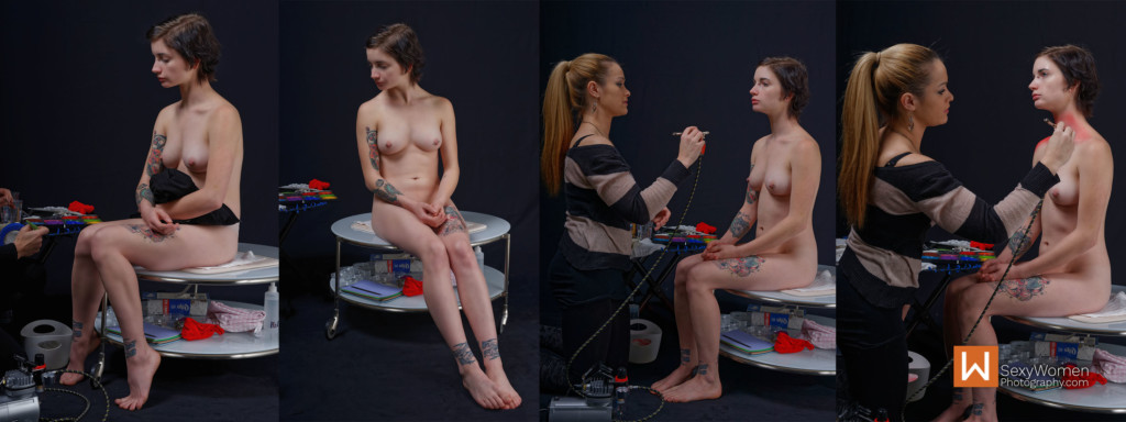 1 - Adding body painting, Preparation - 1,2,3,4