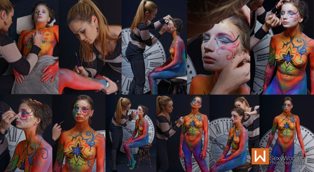 11 - Body Painting hair & last-minute brush touch-ups - 39,40,41,42,43,44,45,46,47,48,49