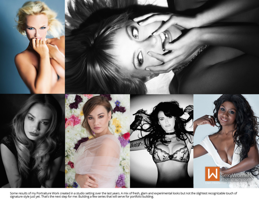 2 - Portrait Style in Studio - Starting A Boudoir Photography Business