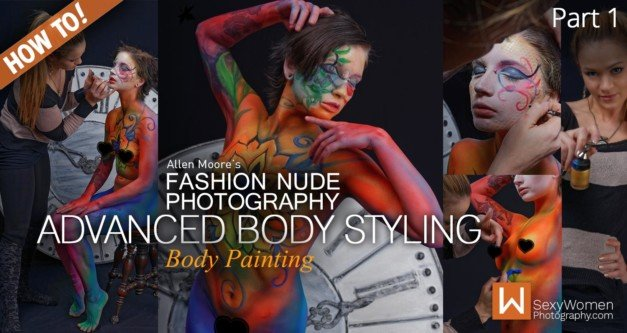 Fashion Nude Photography & Styling:  Advanced Body Styling (Part 1)