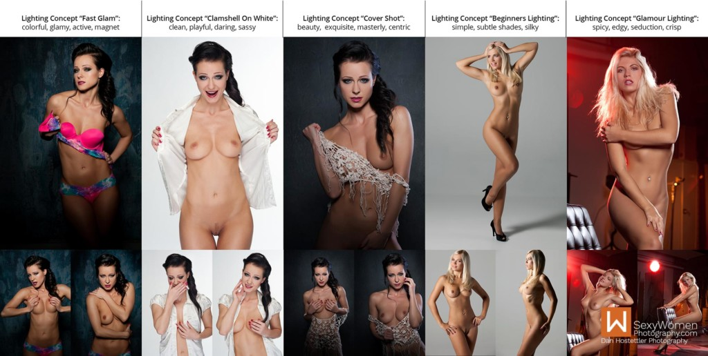 1 - Studio Lighting For Nude Photography - Photo Concepts With Keywords - Dan Hostettler Photography