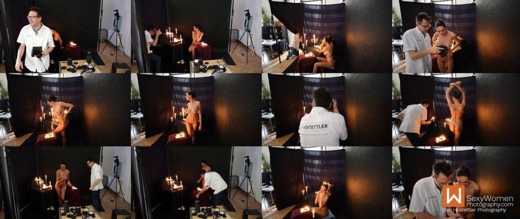 Erotic Photography Images -Behind The Scenes with Art Nude Model Nikola