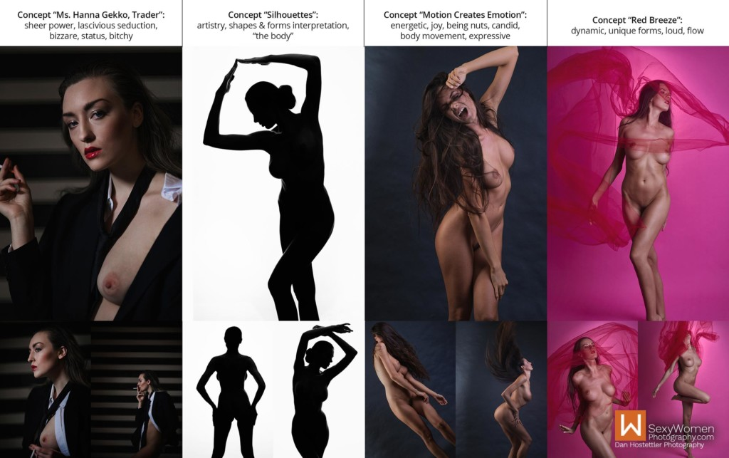 4B - Creative Nude Photography on a Budget - Photo Concepts With Keywords - Dan Hostettler Photography