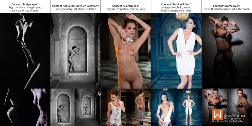 5 - Portfolio Building Glamour Photography - Photo Concepts With Keywords - Dan Hostettler Photography