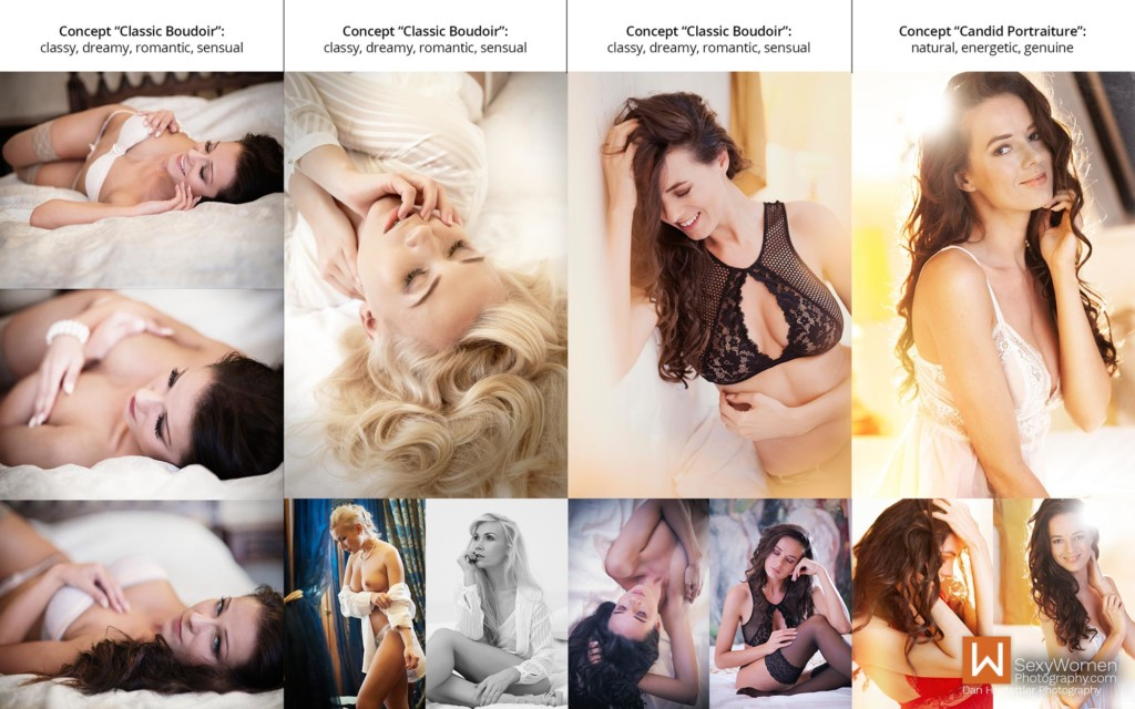 8 - Boudoir Photography - Photo Concepts With Keywords - Dan Hostettler Photography