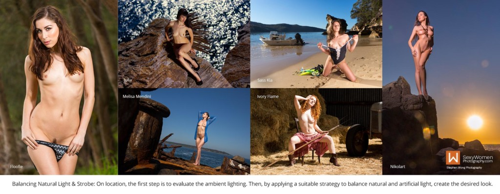 1 - Balancing Natural Light & Strobe - Outdoor Photography Lighting Strategies