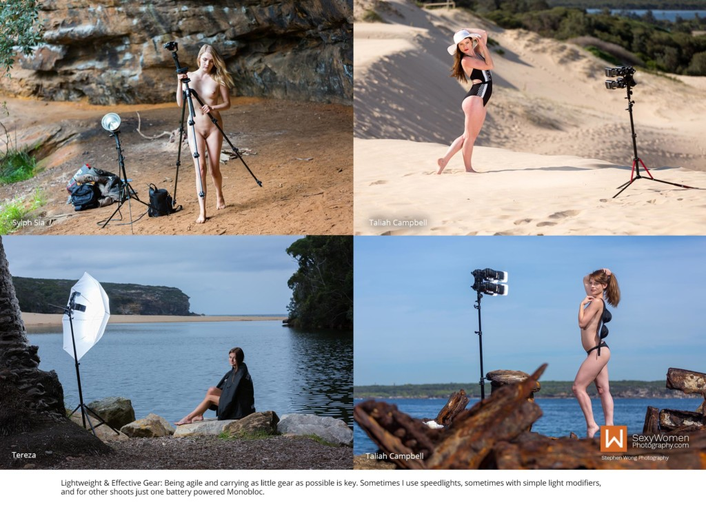 2 - Behind the Scenes - Lighting Gear for Outdoor Photography