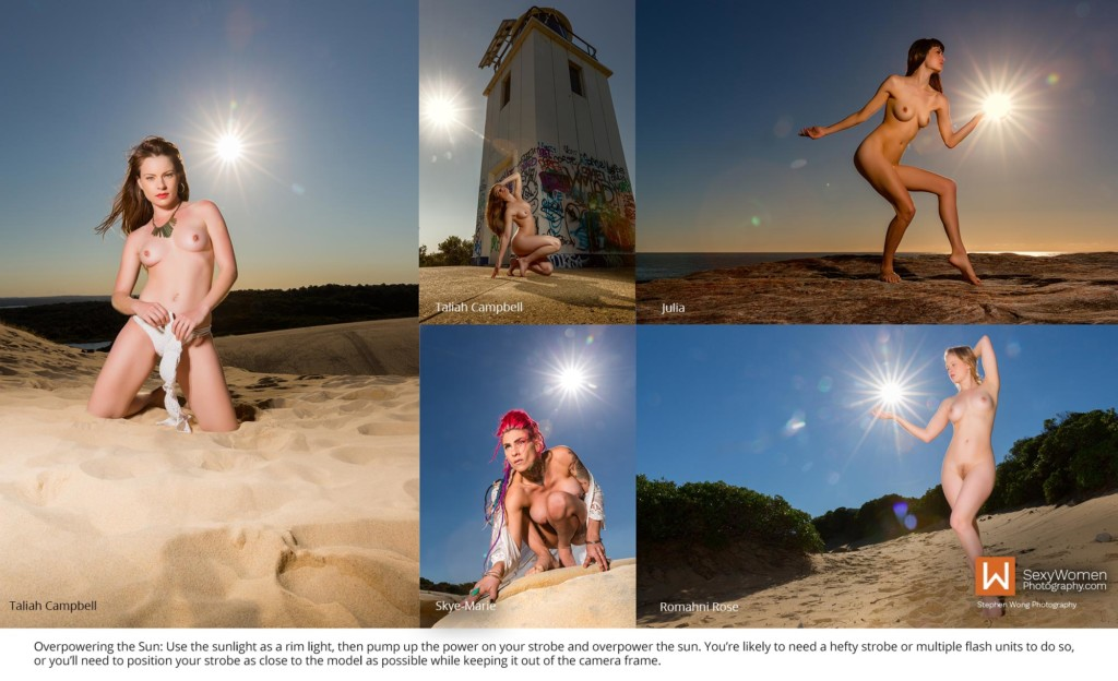 6 - Overpowering The Sun With Strobe - Outdoor Photography Lighting Strategies