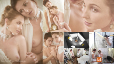 7 - Photograp Production Workflow -Voyeuristic Portrayal -  Ivana & Suzzi - Dan Hostettler Photography