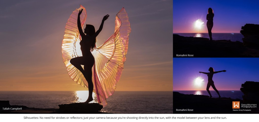 8 - Female Silhouette Photography - Outdoor Photography Lighting Strategies