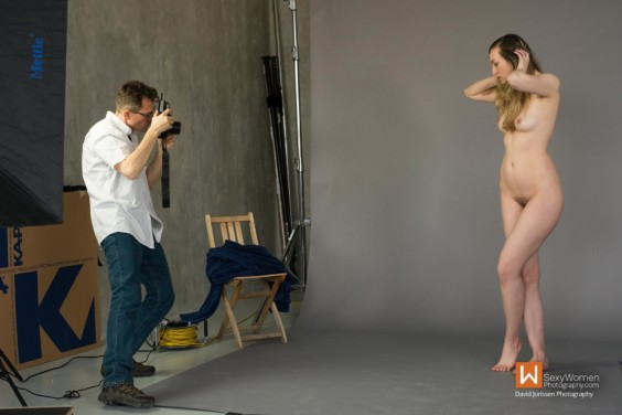 Behind The Scenes Flow Posing - Artistic Nude Photography - Model Hanna and Dan Hostettler