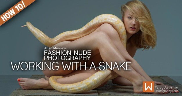Fashion Nude Photography & Styling:  Working with Animals (Part 1)