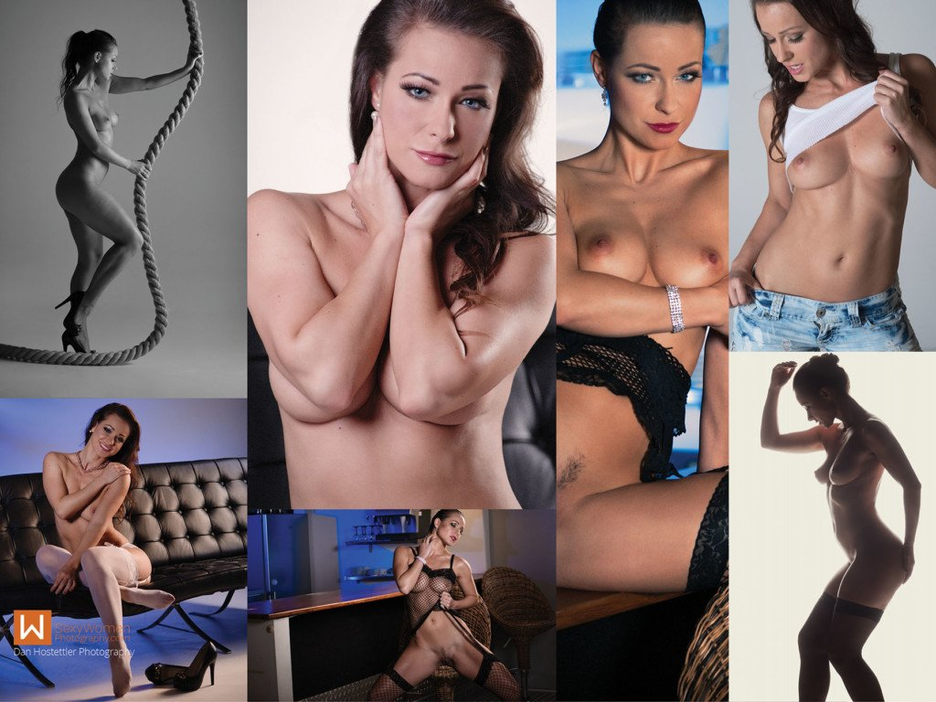 LIVE 1 - Melisa Mendini  Live Nude Photo Shoot - Results Composition for Sales Page
