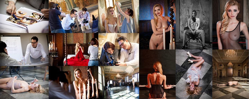 Playboy Glam & Artistic Nudes Photo Production - Video Tutorial with Playmate Coxy Dominika & Dan Hostettler