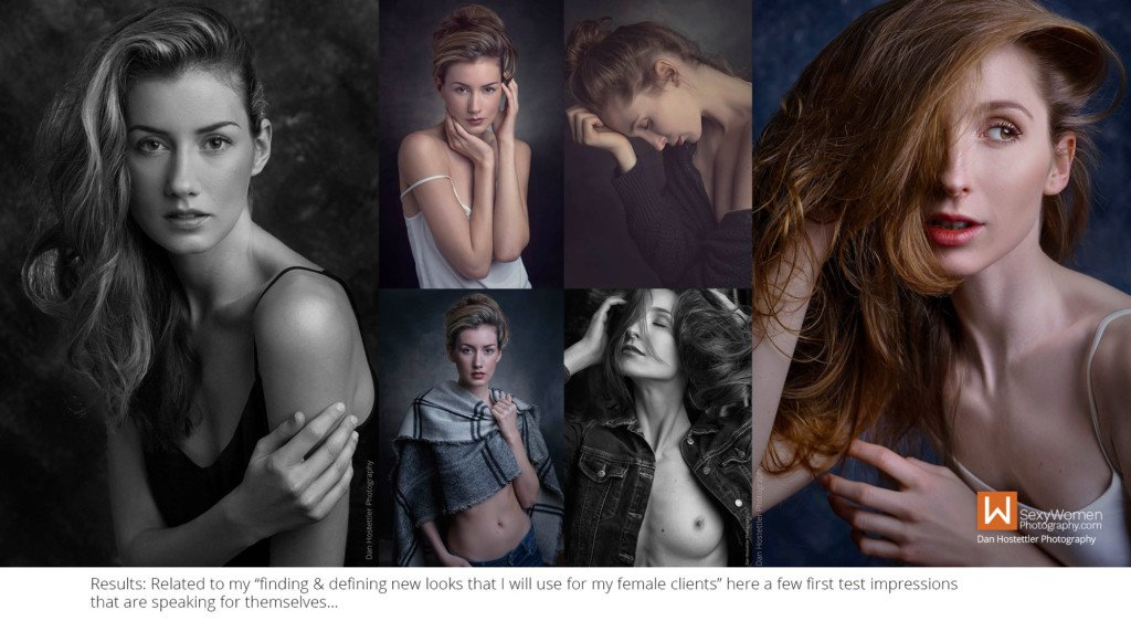 13A - Contemporary Alluring Portraiture by Dan Hostettler