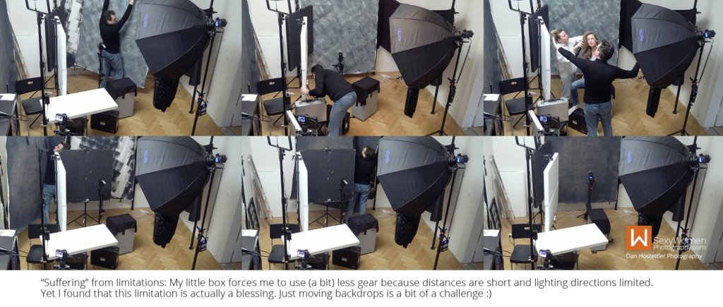 6 - Tight Spaces - Setting Up A Small Home Photo Studio
