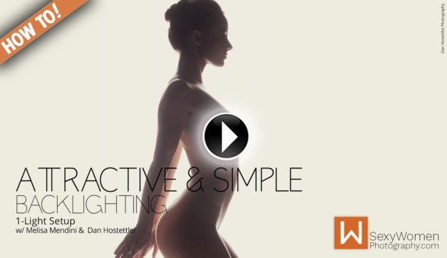 Backlighting: Attractive, Artful & Simple Nudes