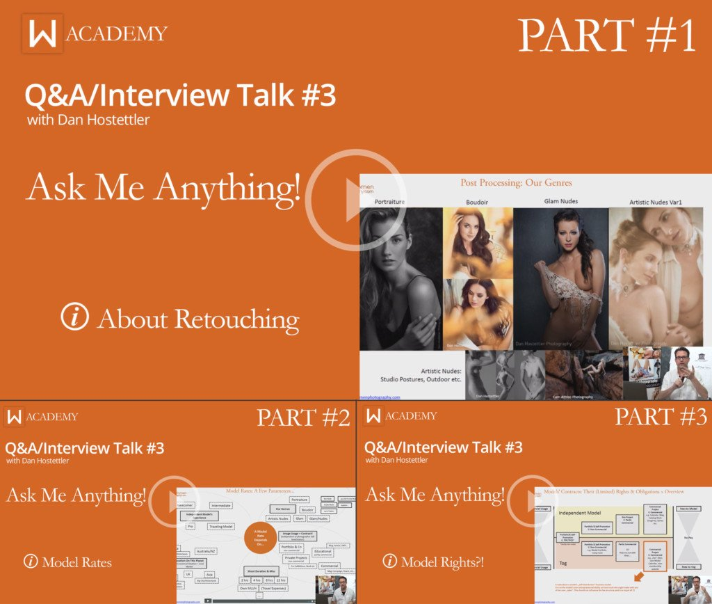 Q&A: Model rates, Model Contracts, Retouching Sexy Women