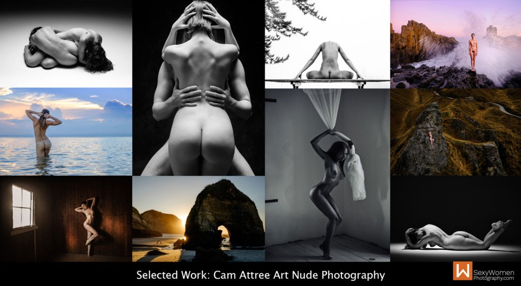 Selected Work - Results Sales Page - Outdoor Art Nude Photography with Cam Attree, Brisbane Australia
