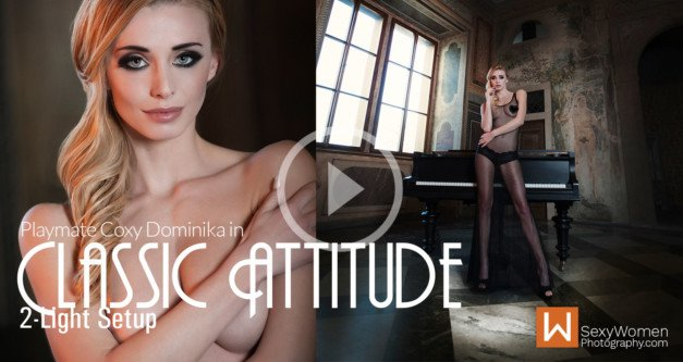 "Photo Shoot Concept ""Classic Attitude"" – feat. Playmate Coxy Dominika"