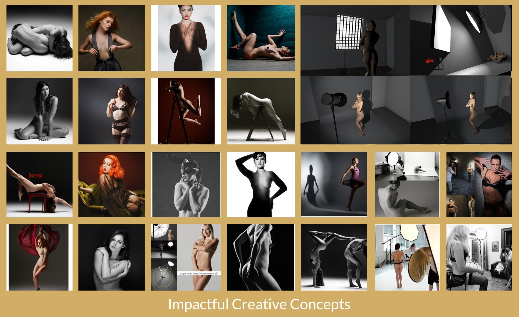 Artistic Nudes Photography - Mastering 1-Light - Creative Concepts, Impactful Photo Results
