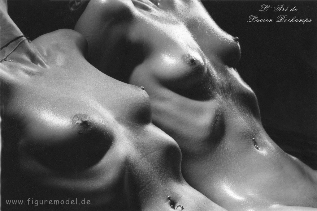 Erotic Art Nudes B&W Photography by Lucien Bechamps