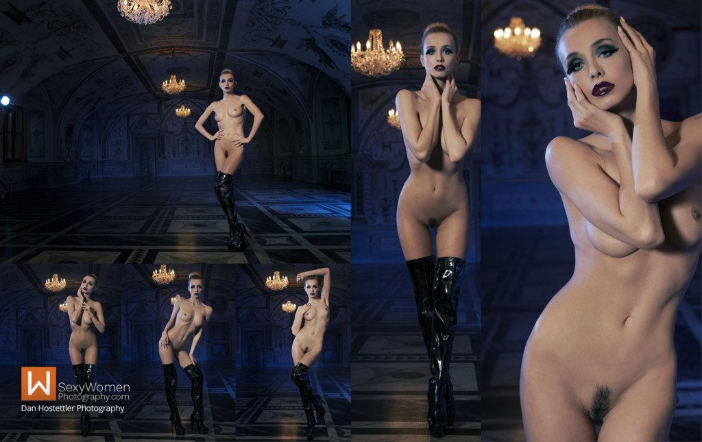 1 - Result - Avant Garde Photo Shoot Captive Accents With Czech Playmate Coxy Dominika