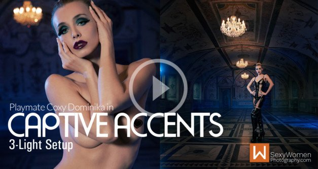 "Avant-Garde Concept ""Captive Accents"" – feat. Playmate Coxy Dominika"
