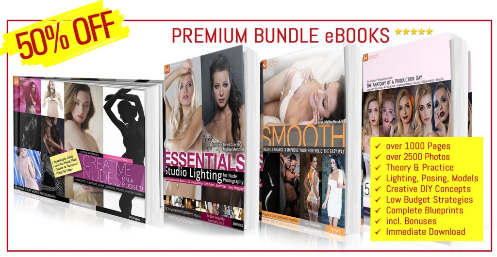BUNLDE - eBooks STARTING OUT IN SEXY WOMEN PHOTOGRAPHY (PREMIUM EDITION) by Dan Hostettler - LARGE